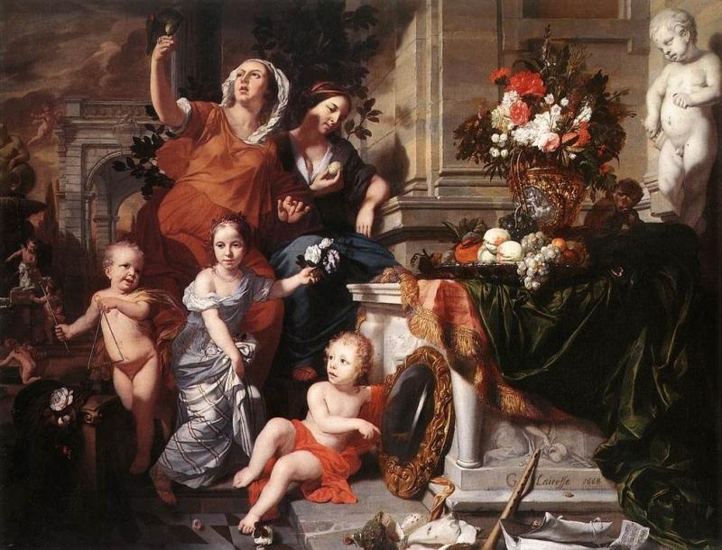 Gérard de Lairesse - Allegory of the Five Senses