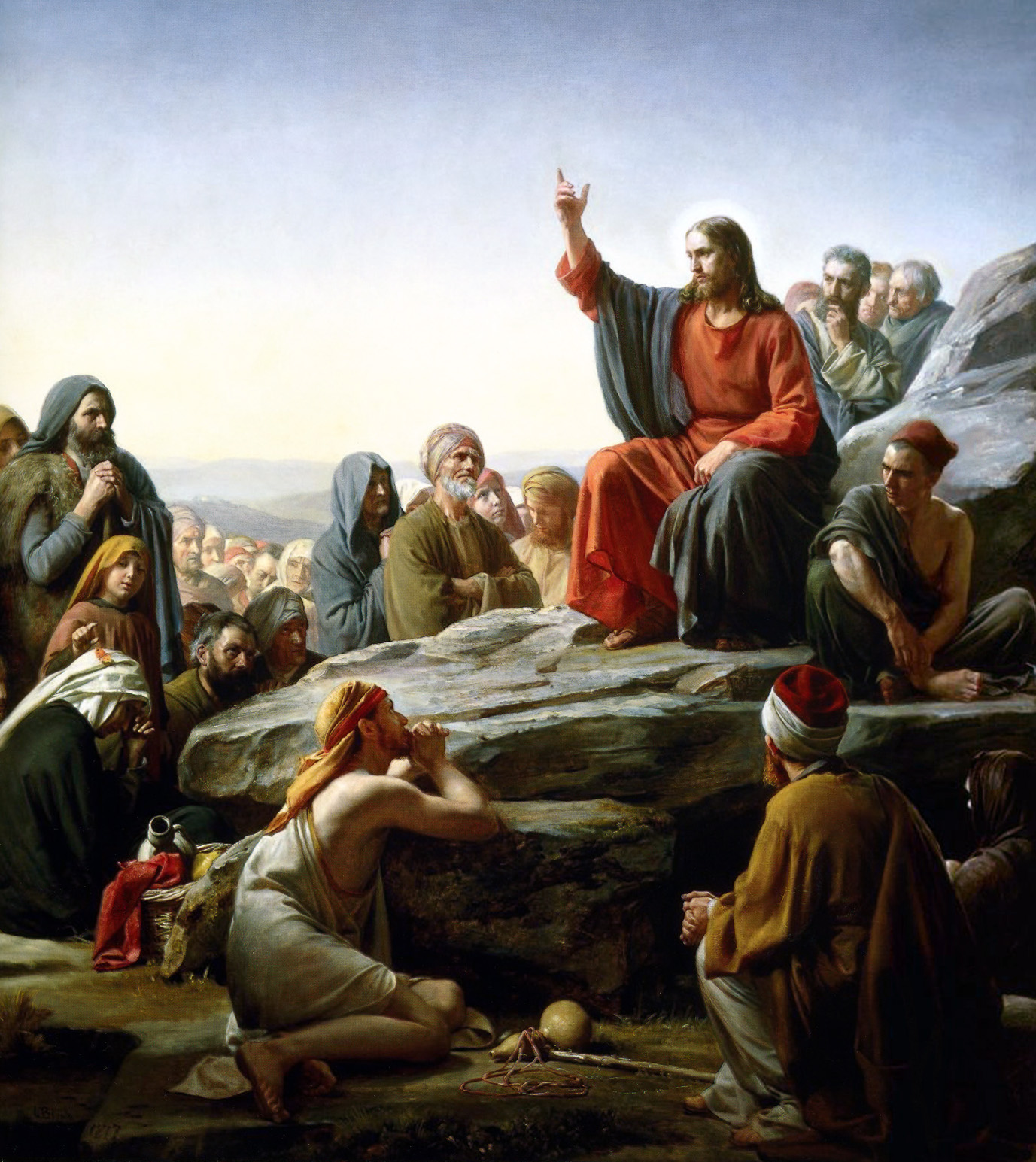The Sermon on the Mount, Carl Bloch, 1890