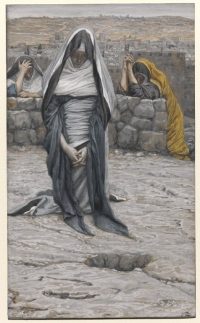 Brooklyn Museum - The Holy Virgin in Old Age (La sainte Vierge âgée) - James Tissot