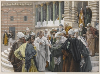 Brooklyn Museum - The Tribute Money (Le denier de César) - James Tissot