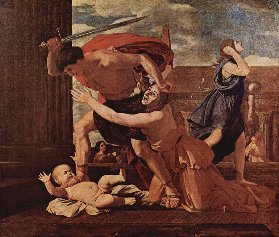 Nicolas Poussin - Massacre des Innocents