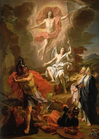 Noël Coypel - Resurrection of Christ