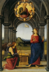 Pietro Perugino: The Annunciation