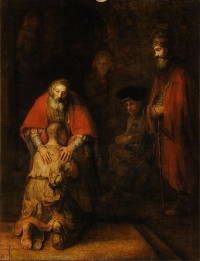 Rembrandt Harmensz van Rijn - Return of the Prodigal Son