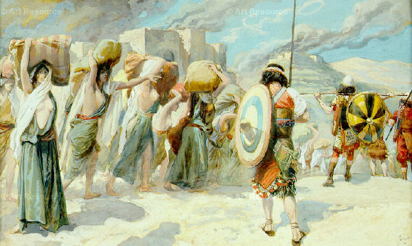 Tissot The Women of Midian Led Captive by the Hebrews