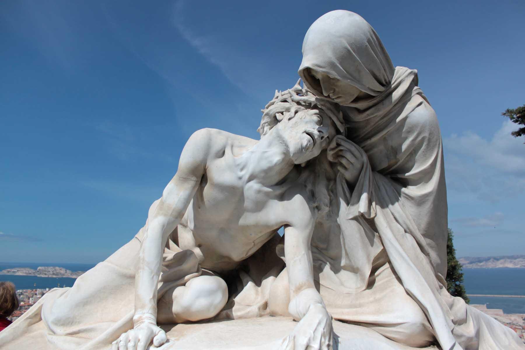 Pieta statue